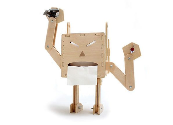 DIY Robot Tissue Box Holder